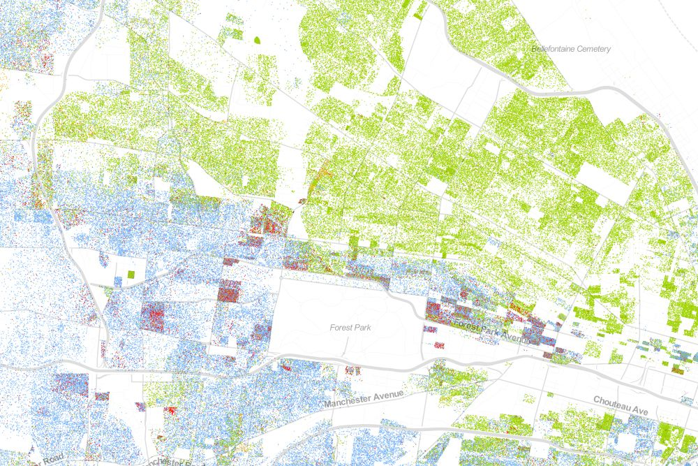 Map Of Americas Racial Segregation.The Best Map Ever Made Of America S Racial Segregation Visual