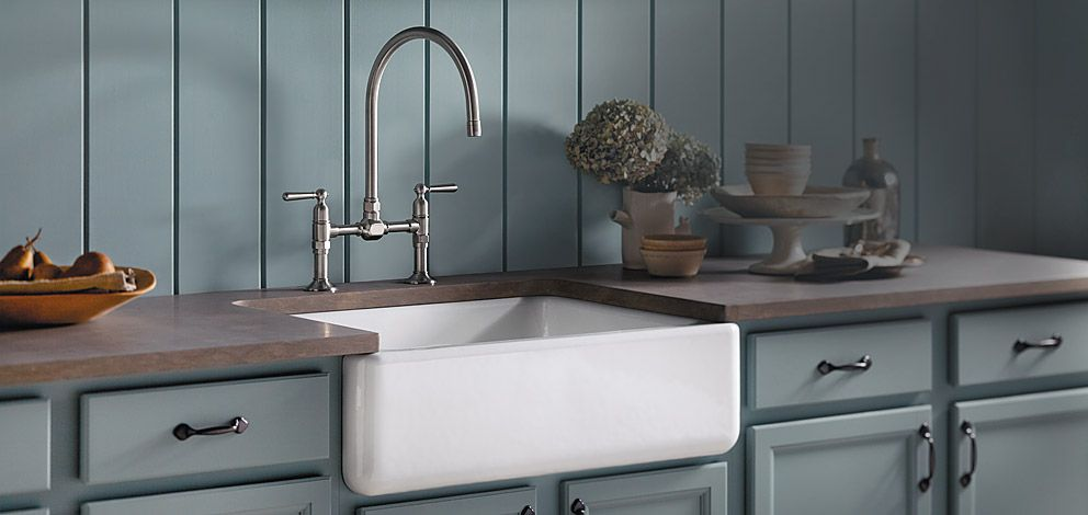 KOHLER | Kitchen Sinks | Kitchen: Love this look for the laundry ...