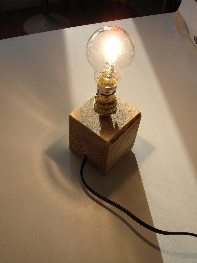 Que Faire Avec Cube De Palette réutilisation d'un cube de palette #1 – lampe   diy   pinterest