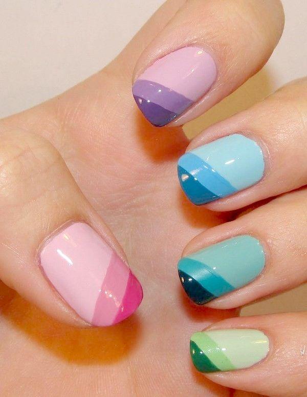 15 Diseños de uñas con colores pastel para sacar t