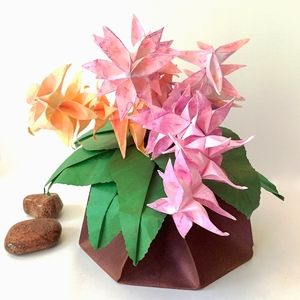 Medium origami flower arrangement in origami vase available in medium origami flower arrangement in origami vase available in shop on website mightylinksfo