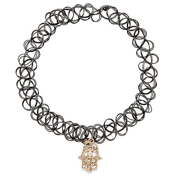 Anarchy Street Talk To The Hand Choker Accessories Fake Jewelry Braid Jewelry Imitation Jewelry