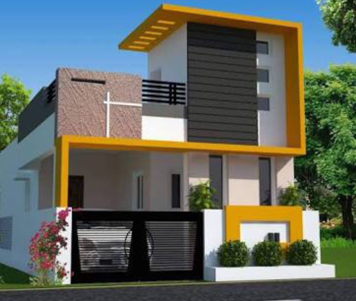 Independent House Single Floor House Design Small House Elevation Design Small House Front Design