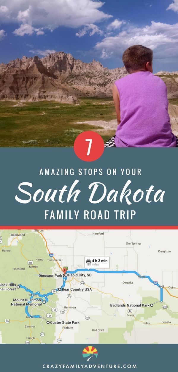 A South Dakota family road trip is a classic USA travel experience! From the beautiful scenery and great hikes at Badlands National Park and the Black Hills to a stop at the epic Mount Rushmore this is a bucketlist trip! Whether you are just driving through on I90 or your final destination is South Dakota this #itinerary covers all the must-see sights to make this a #family vaca #style #shopping #styles #outfit #pretty #girl #girls #beauty #beautiful #me #cute #stylish #photooftheday #...