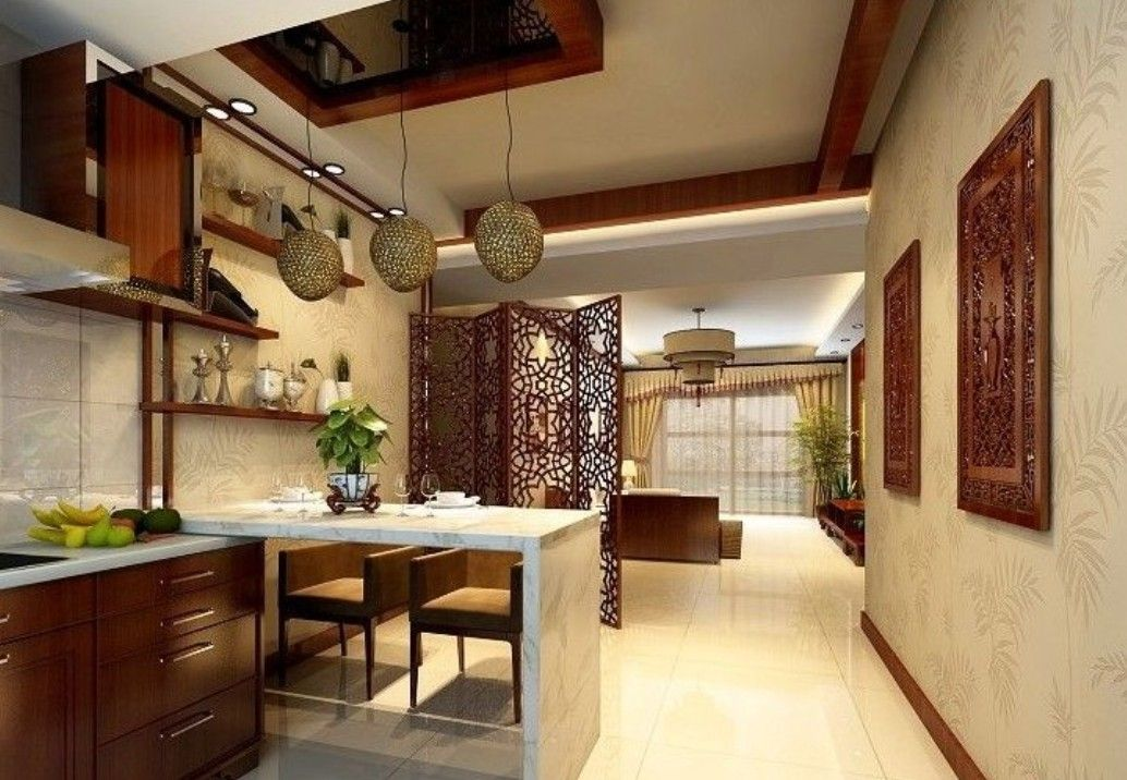 Partition Between Kitchen And Living Room | Interior Design | Renew  Partition Between Kitchen And Living