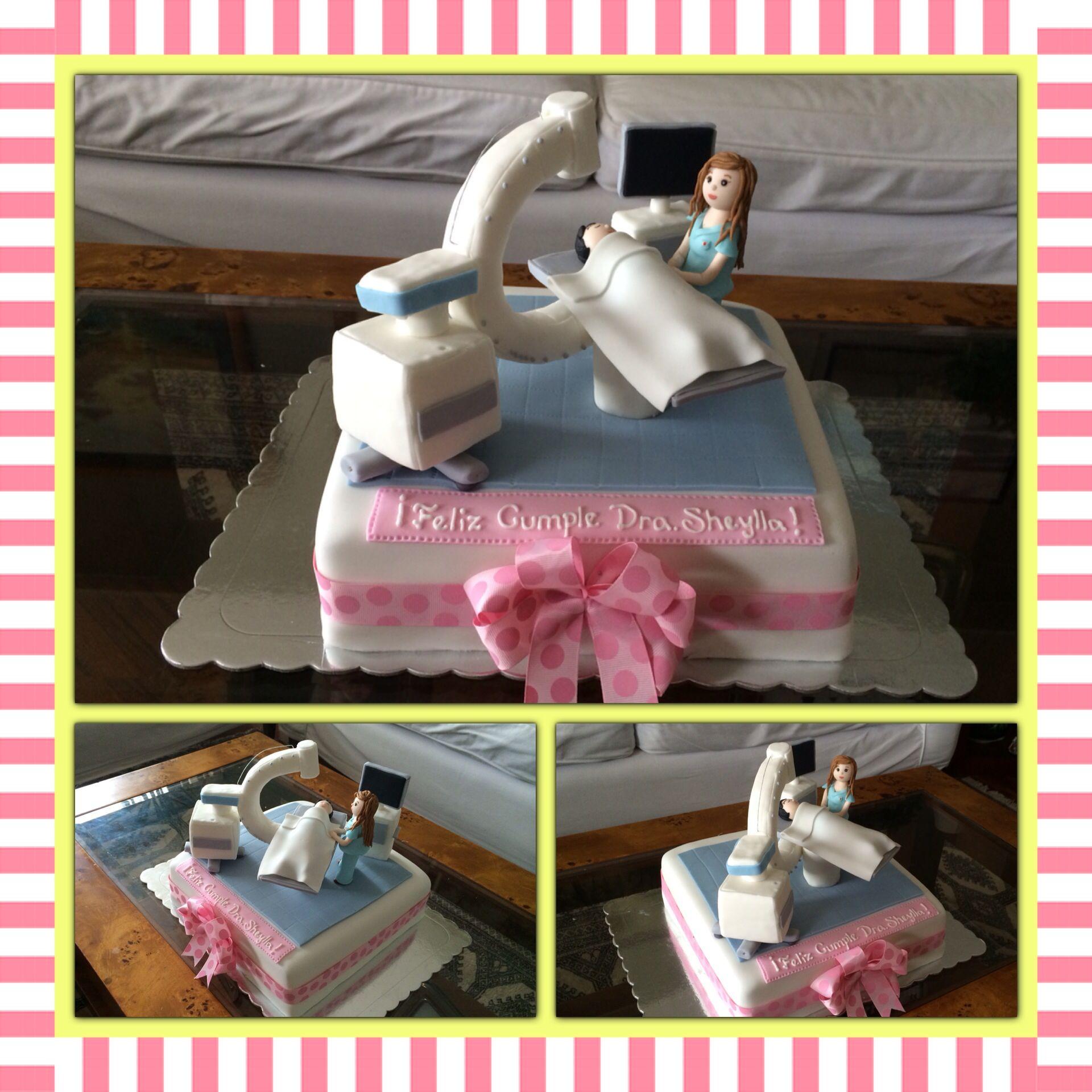 Radiologist cake by Facebookcomlatortadesu Cumpleaos