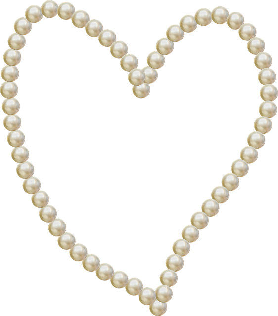Free Image on Pixabay - Heart, Pearls, Frame, Love