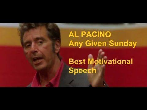 Al Pacino Motivational Speech Any Given Sunday