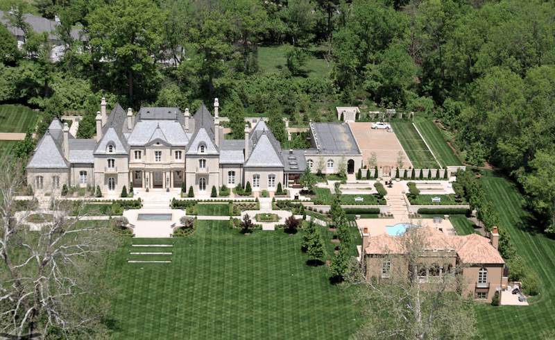 Ch teau pensmore ozark mansion in four seasons worth for Pensmore mansion