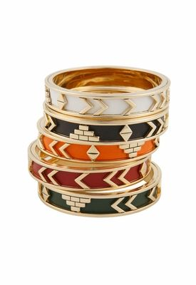 House of Harlow 1960 Aztec bangles. Find them at asos or Singer22