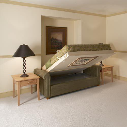 Tf20 sistema de cama abatible empotrada en la pared y sof - Sistema cama abatible ...