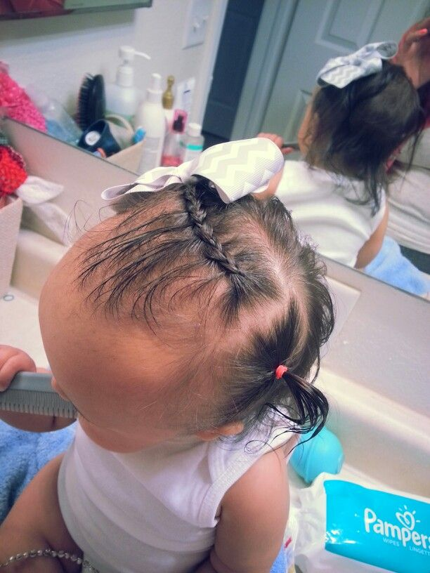 9 Month Old Baby Girl Miaisabella Braid Baby Hairstyle Cute Hair Easter Hair Baby Hairstyles Baby Girl Hairstyles Girl Hairstyles