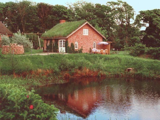 Ferienhaus Gjarshüs Zaun, Kamin, Angeln, Nordsee