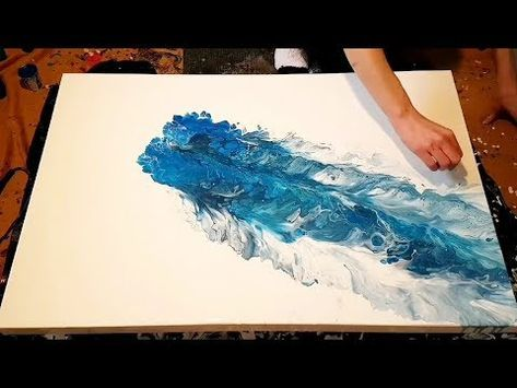 531 Powertex Background Abstract Painting Part 2 Youtube