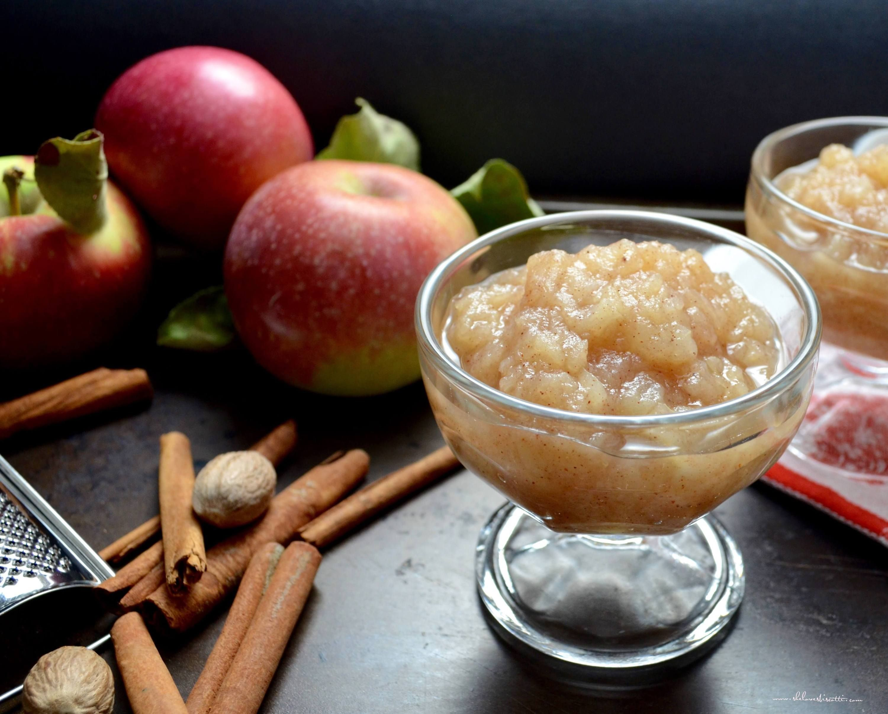 Easy Homemade Chunky Applesauce Delicious healthy