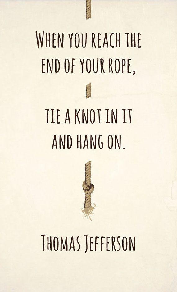 hang on.
