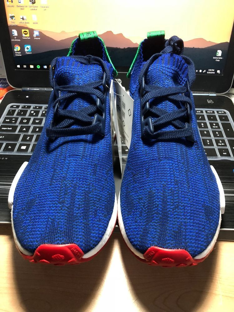 ADIDAS NMD R1 PK Paris Exclusive SIZE 9 LIMITED