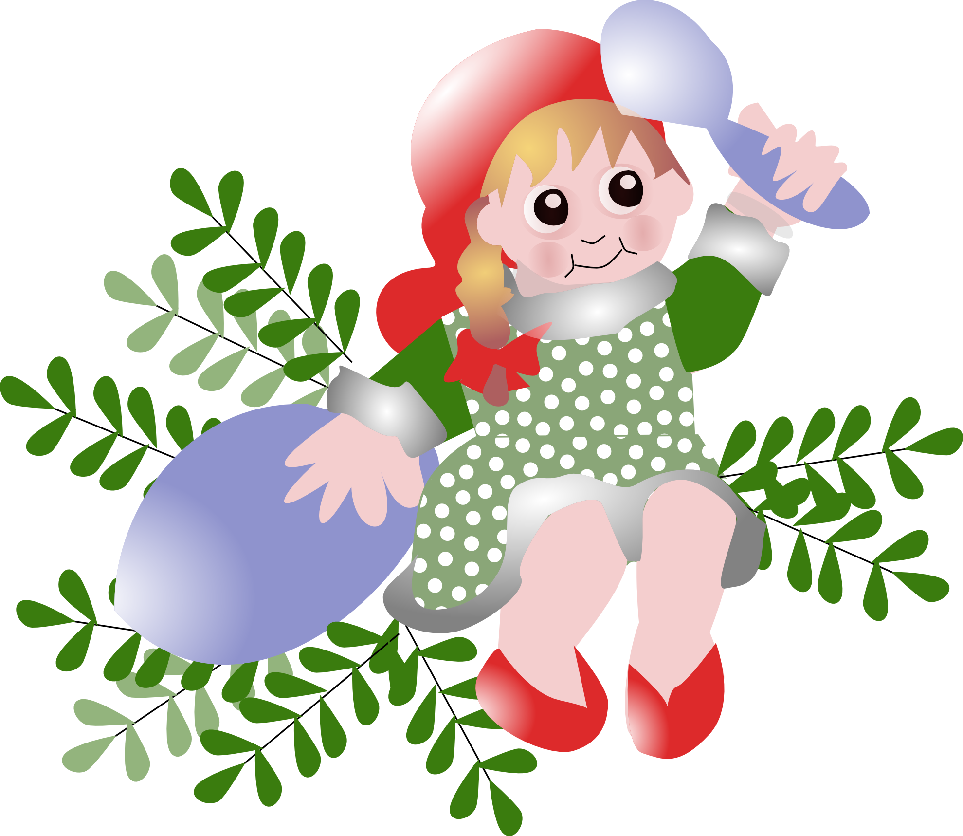 DANISH CHRISTMAS CLIP ART Christmas fairy, Xmas tags