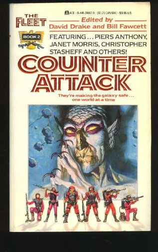 24087-6 DAVID DRAKE and BILL FAWCETT (eds.) The Fleet; Counter Attack.#