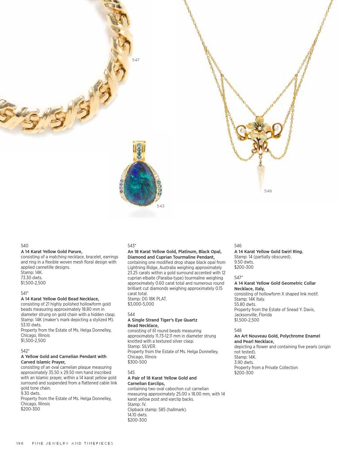 Sale 338 | magazine pics | Jewelry, Fine jewelry, Gold necklace
