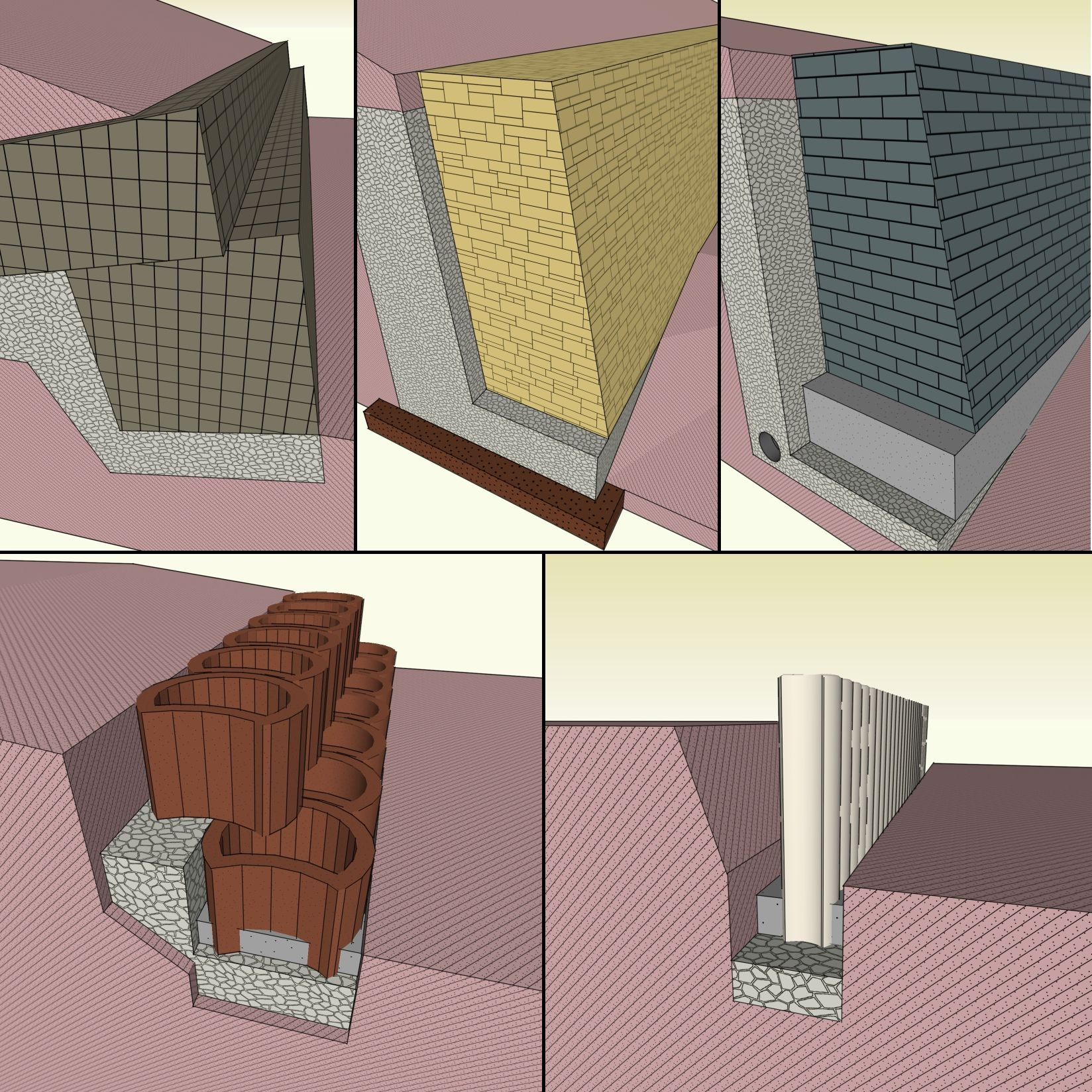 hangbefestigung und b schungsschutz einen hang befestigen mit b schungssteinen hangflorsteinen. Black Bedroom Furniture Sets. Home Design Ideas