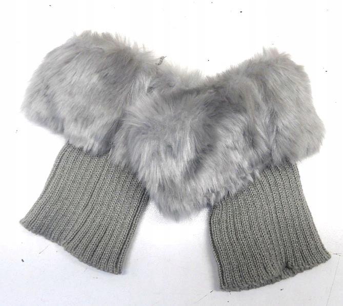Rekawiczki Damskie Bez Palcow Futerko Oversize 9001523820 Oficjalne Archiwum Allegro Winter Hats Winter Hats