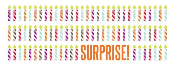 Throwing A Surprise Birthday Party Use This Facebook Banner To