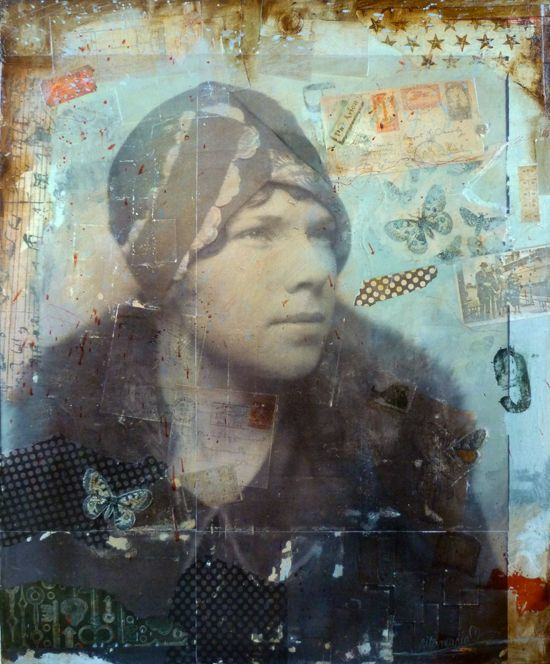 ⌼ Artistic Assemblages ⌼ Mixed Media & Collage Art - rita maria gallery
