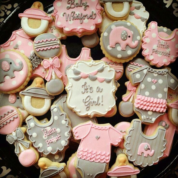 Sugar Free Punch For Baby Shower: Baby Shower Cookies