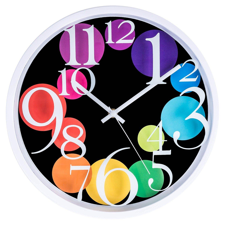 Amazon lgi quartz wall clock modern contemporary wall clock amazon lgi quartz wall clock modern contemporary wall clock amipublicfo Images