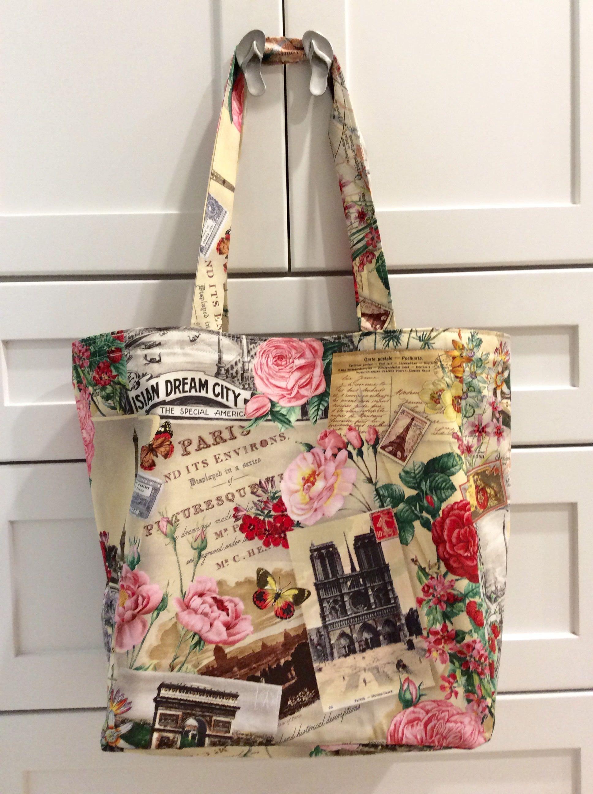Bag Reusable Shopping Tote Handmade