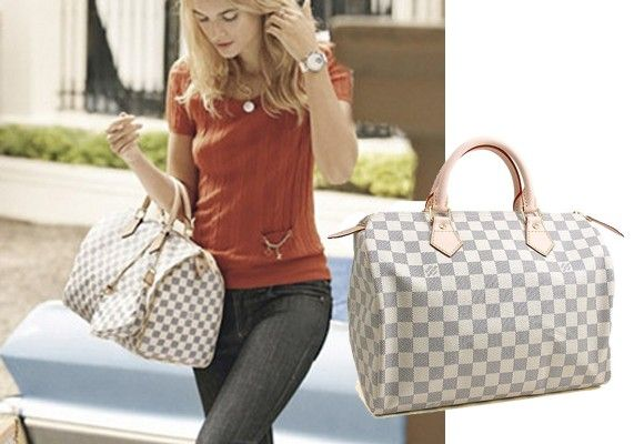 81e98e4434ef Louis Vuitton Speedy 30 Damier Azur My next big purchase  )
