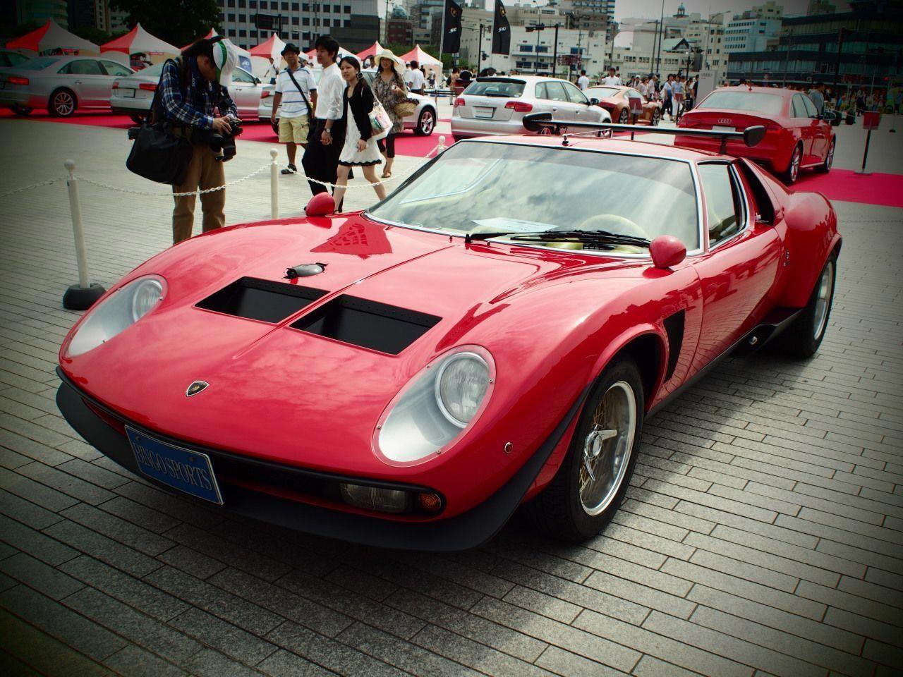 Lamborghini Miura Jota SVR Body kits in The Crew?