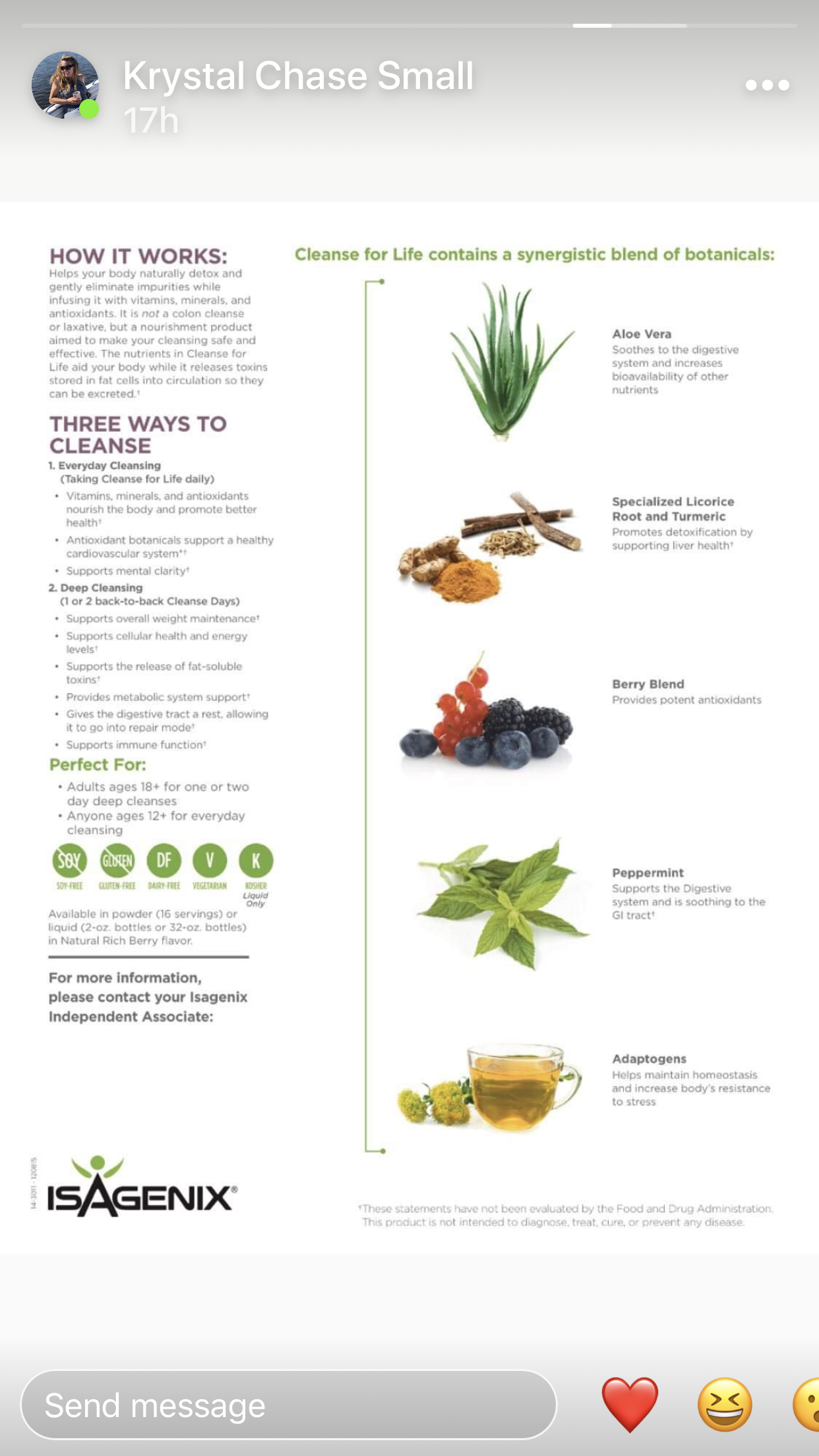 Pin By Beth Day On Isagenix In