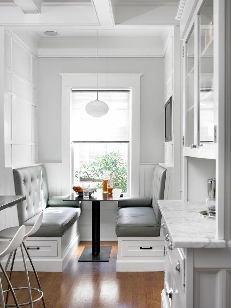 Die Sitzecke in der Küche - 22 gemütliche Einrichtungsideen - einrichtungsideen sitzecke in der kuche