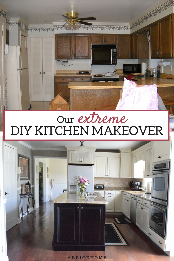 Our Extreme DIY Kitchen Makeover | Küche
