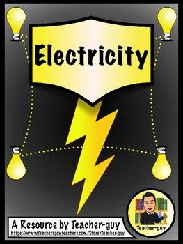 Electricity | TpT Science Lessons | Middle school science