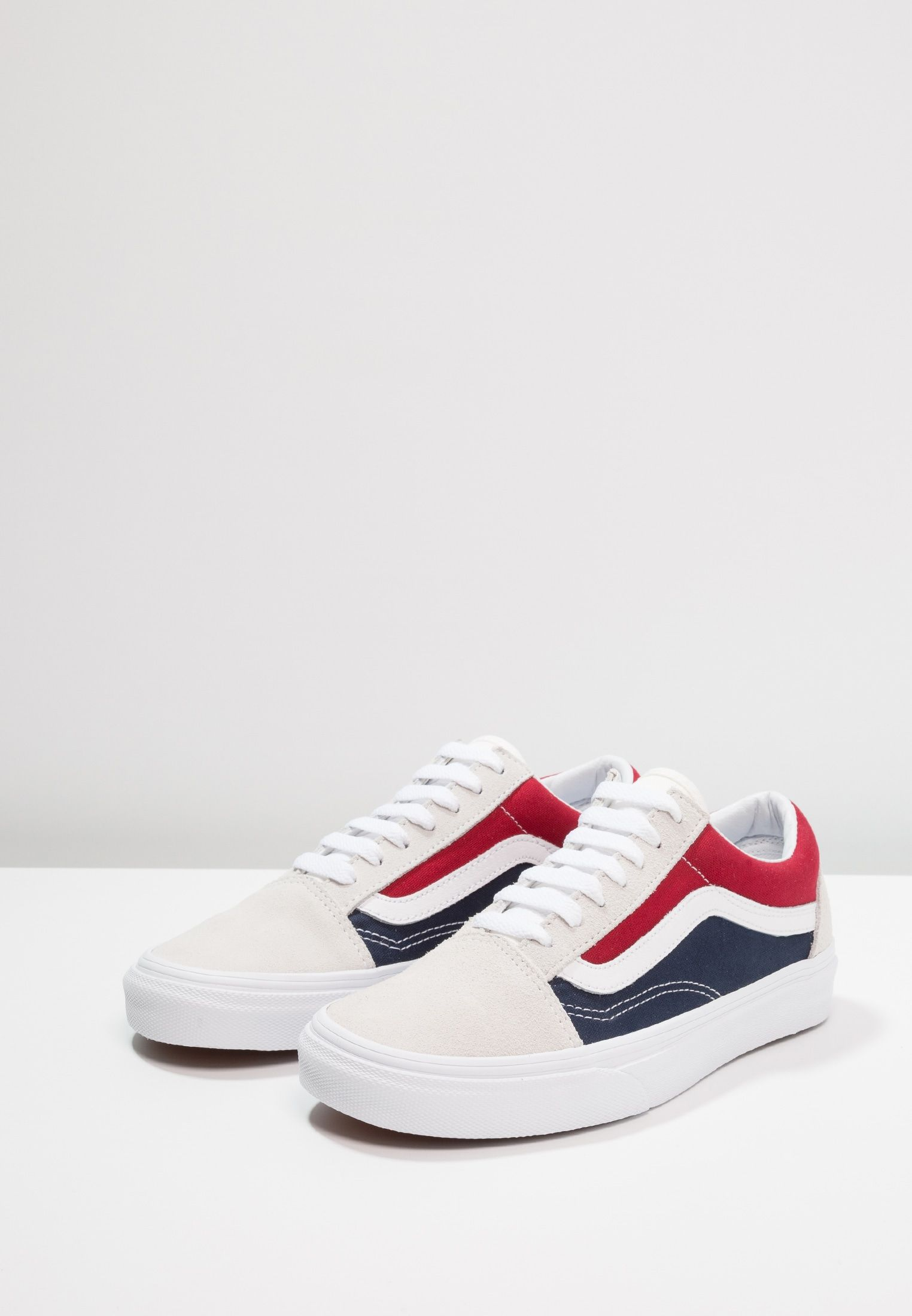 c0d6cf6ef7 Vans UA OLD SKOOL - Sneaker low - white red dress blues - Zalando.de ...