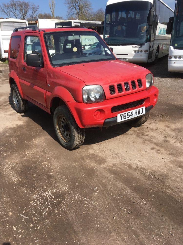 Suzuki jimny 2001, spares or repair | Suzuki jimny, Salvage cars and