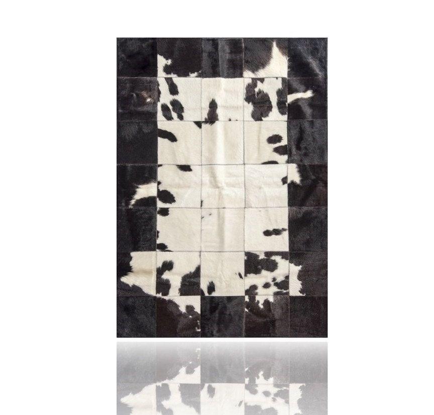 Alfombra Piel de Vaca  Patchwork Cowhide Kuhfell de PuraSpain en Etsy