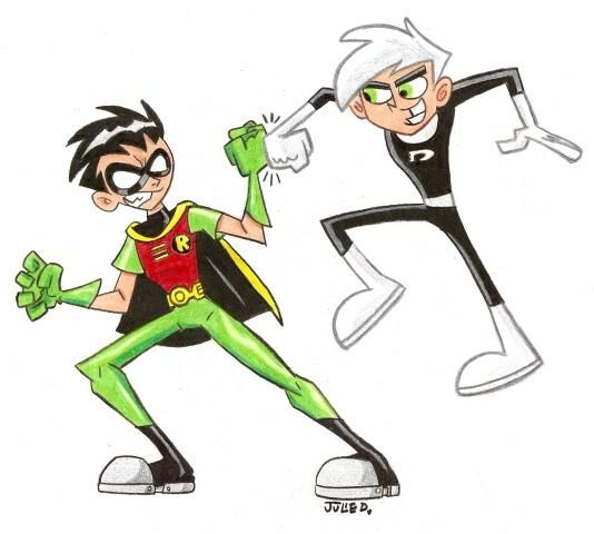 Danny Phantom Vs Robin Crafty stuff Pinterest Danny phantom