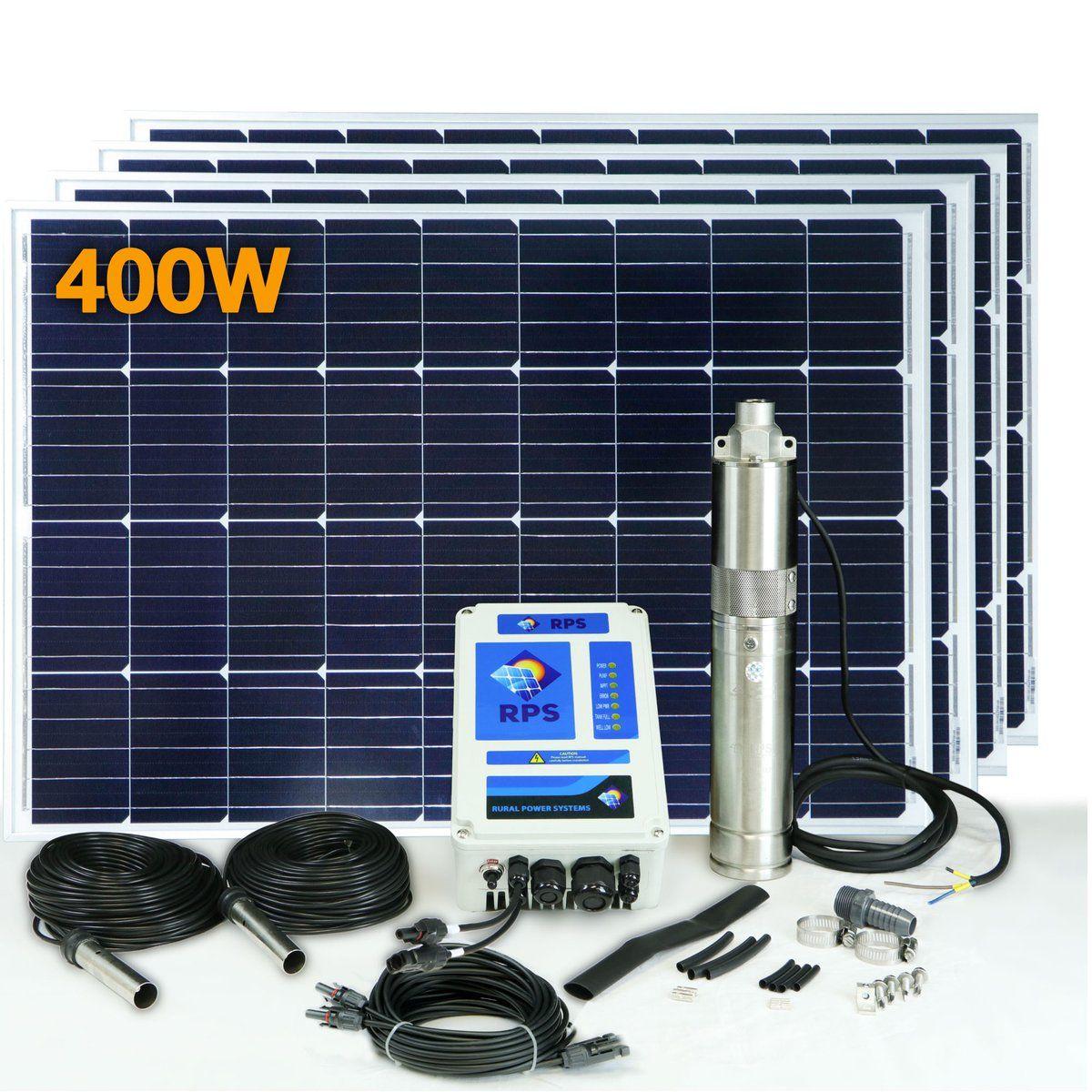 RPS 400 Solar Well Pump Kit Advantages of solar energy