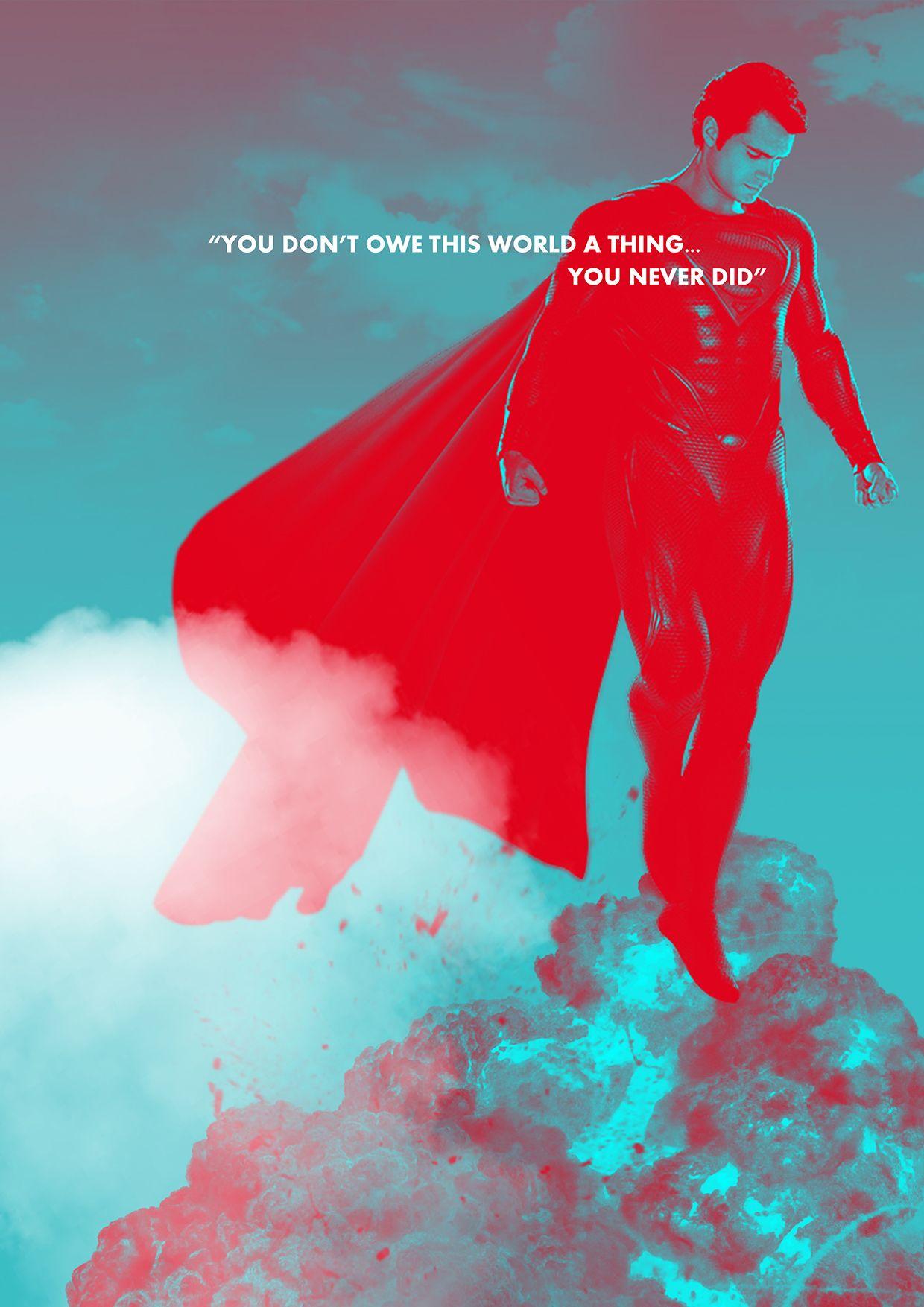 Man Of Steel Quotes Man Of Steel Quote Poster Designmanofsteel Superman