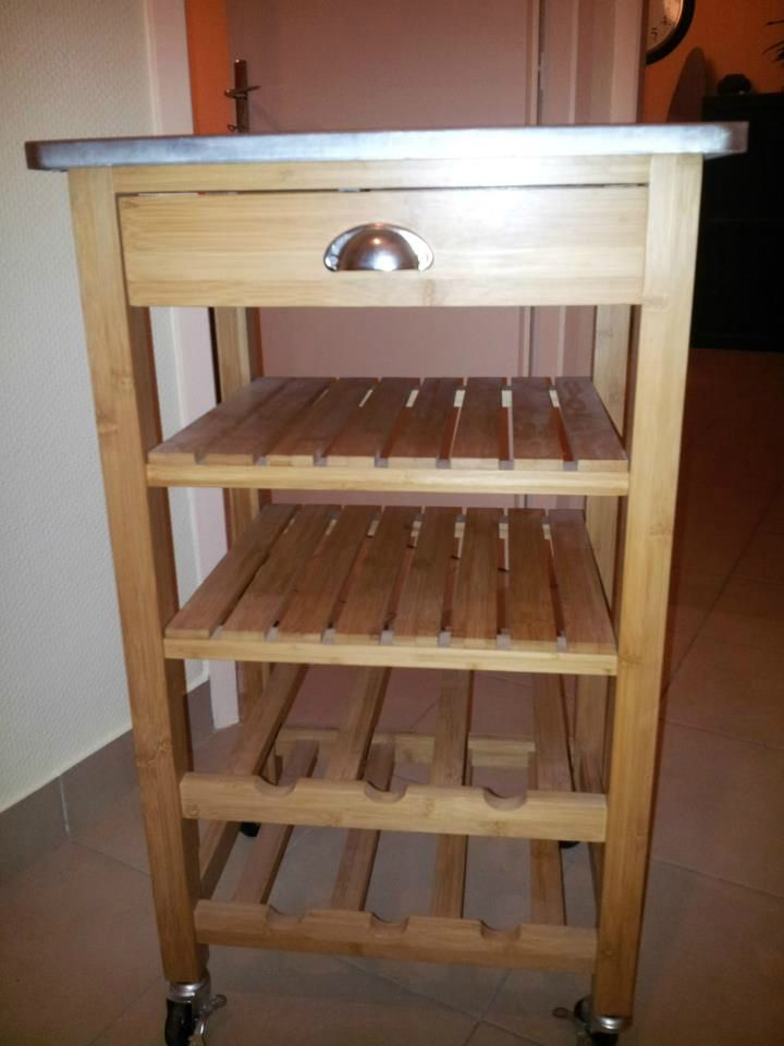 Extrêmement impressionnant petit meuble de cuisine en bois | Décoration  KX54