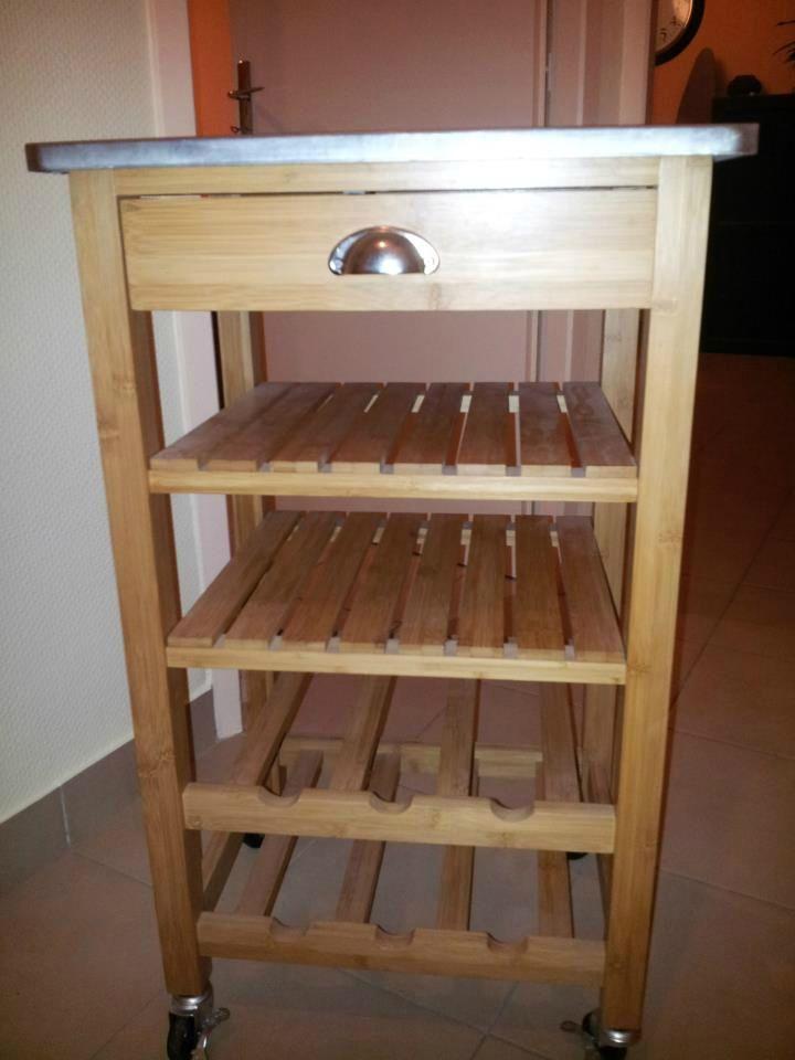 Petit meuble de cuisine en bois va48 jornalagora - Petit meuble de cuisine fly ...
