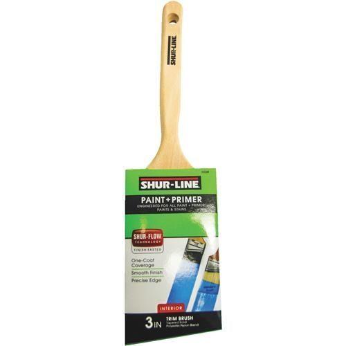 Shur Line 3 Angle Paint Brush Paint Primer Flow Painting Paint Brushes