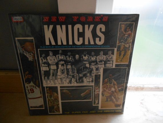 vgt new york knicks playby play of the by upickyourcollectible, $25.00