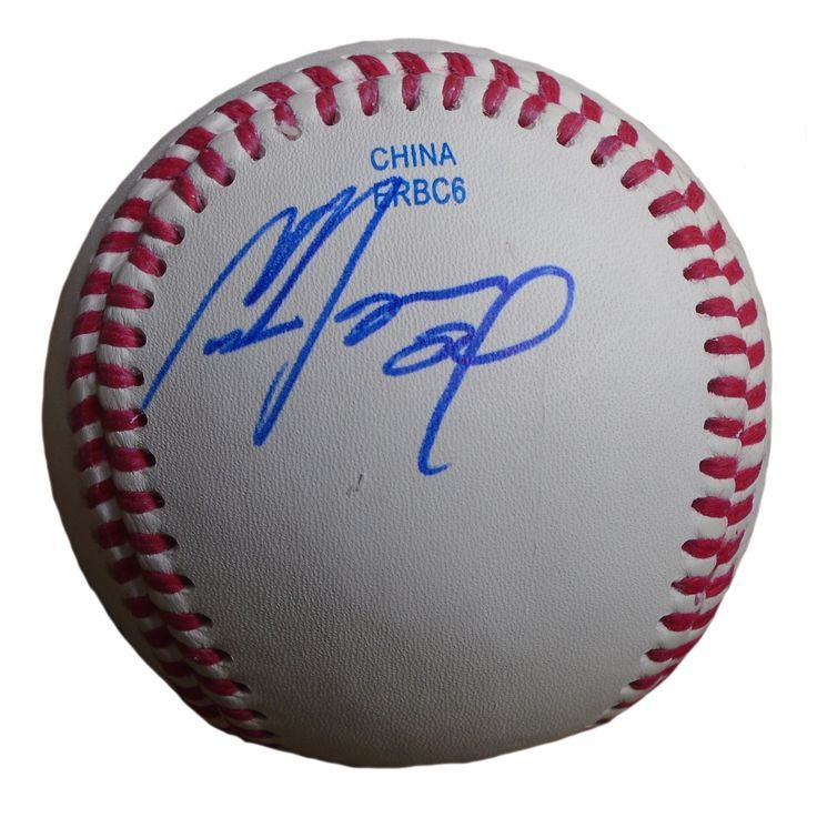 93e9d2c58cb Atlanta Braves Cameron Maybin signed Rawlings ROLB leather Baseball w   proof photo. Proof photo of Cameron signing will be included with your  purchase along ...