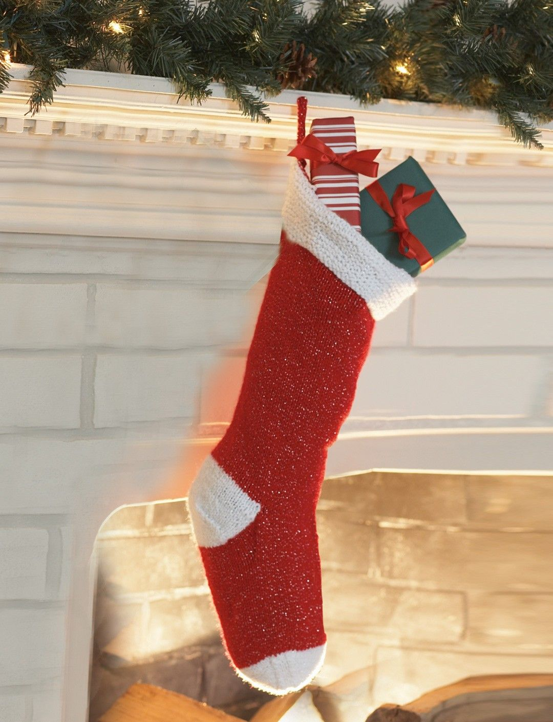 Yarnspirations.com - Bernat Knit Stocking - Patterns ...