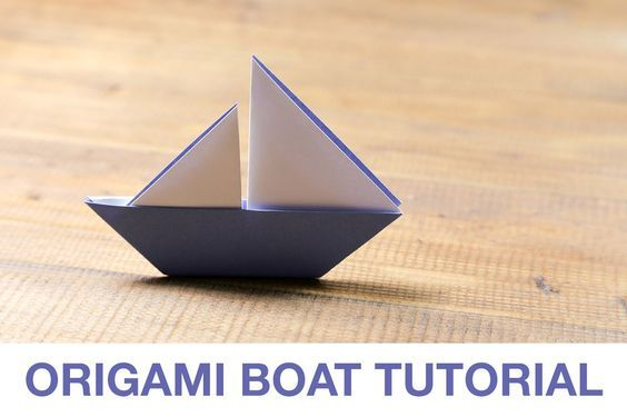Learn how to make a cute origami sail boat origami sail boats learn how to make a cute origami sail boat sciox Choice Image